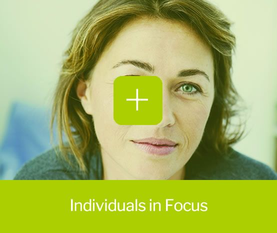 Individuals in focus